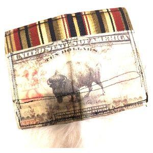 Handbags - Hipster handmade credit card holder OOAK